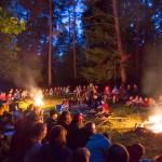 Pfadfinder in der Waldschule Helenenschacht